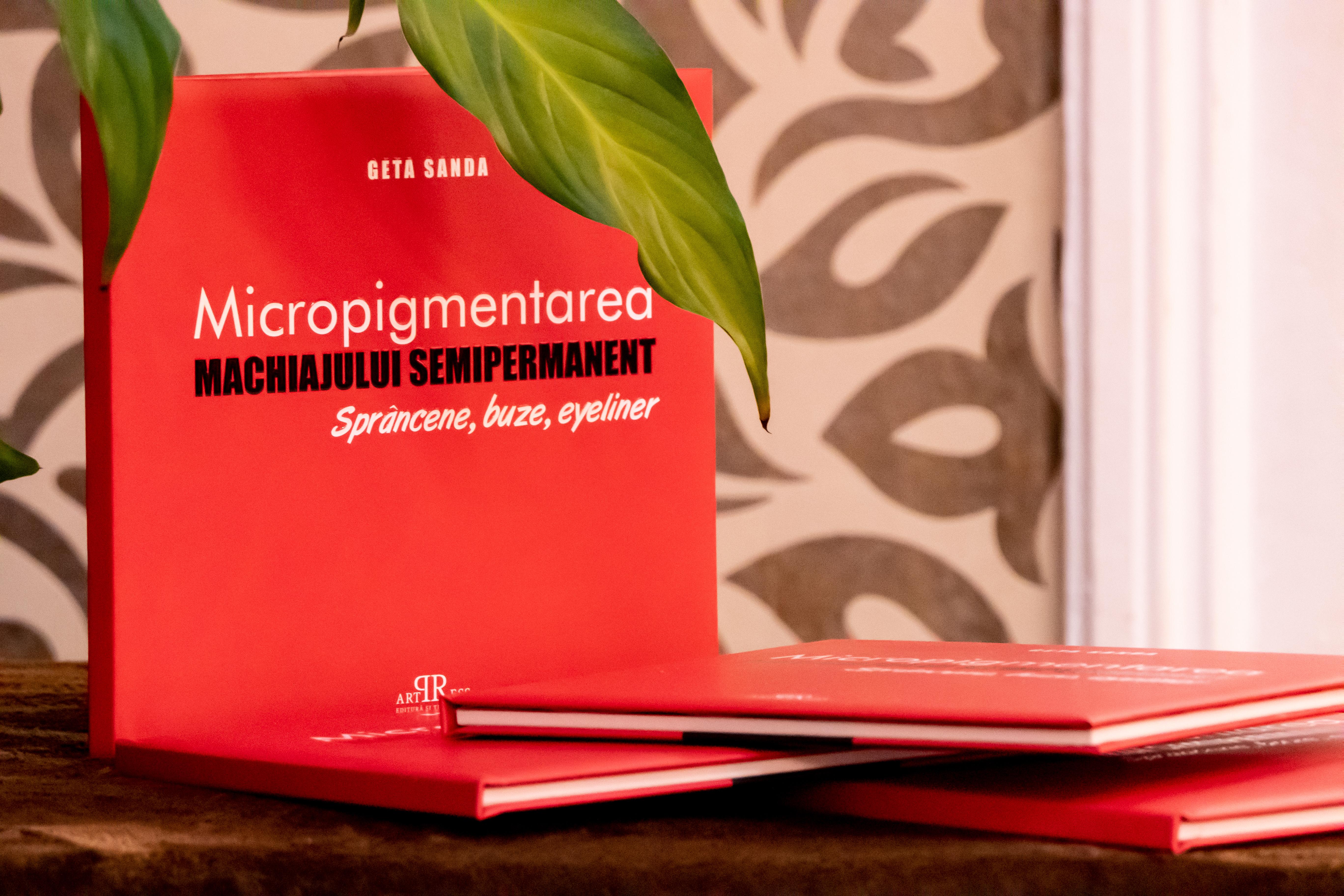 Carte Micropigmentarea Machiajului Semipermanent